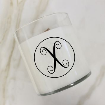 Initial X Candle