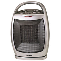 Optimus H-7247 Portable Space Heater - Ceramic - Oscillating
