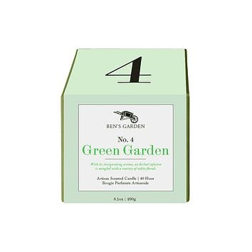 Green Garden No. 4, 40 Hour Artisan Scented Candle