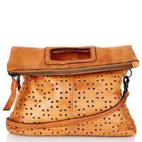Geo Perforated Crossbody Bag - East West Fusion - Collections - Topshop USA