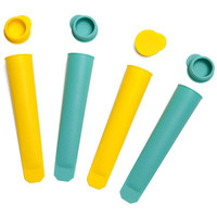 SUNNYLIFE - Icy Pole Moulds Set / Turquoise & Yellow
