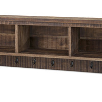 Distinctive Ebba Cubby Wall Shelf