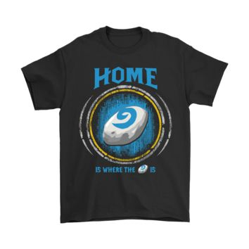 DCCKON7 World Of Warcraft Home Is Where The Hearthstone Is Shirts