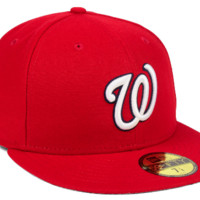 Washington Nationals Authentic On Field Home 59FIFTY