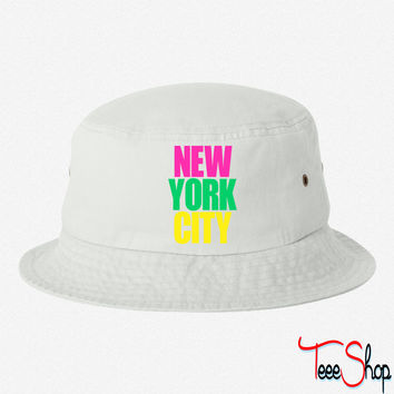 New York City colors - Copy bucket hat