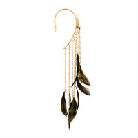 Rosantica Selva Feather Ear Cuff - Farfetch