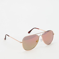 Urban Outfitters - Classic Mirrored Aviator Sunglasses