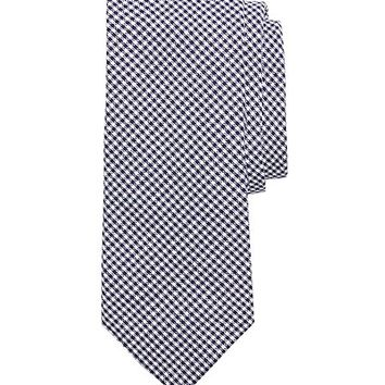 Gingham Seersucker Tie - Brooks Brothers
