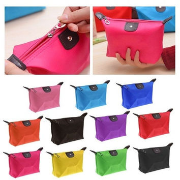 Multifunction Travel Cosmetic Bag Makeup Pouch Toiletry Zipper Wash Organizer [9305884103]
