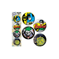 Batman Gotham City Button Set