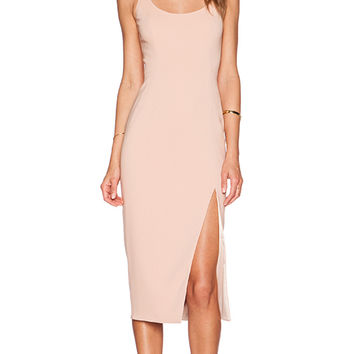 Jay Godfrey Witherspoon Dress in Tan