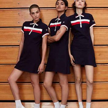 FILA + UO Polo Dress