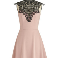 Smart Mauve Dress | Mod Retro Vintage Dresses | ModCloth.com