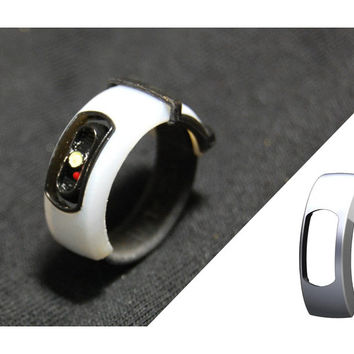 "GLaDOS Ring (White ""Half"" of Ring)"