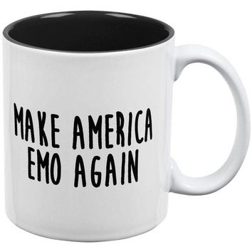 DCCKJY1 Make America Emo Again Rawr I Love You Dinosaur All Over Coffee Mug