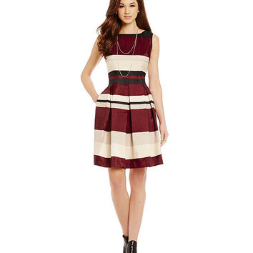 Antonio Melani Playing Favorites Behati Striped Dress | Dillards