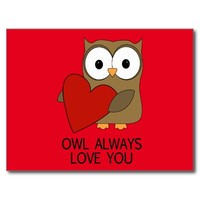 OWL ALWAYS LOVE YOU | VALENTINES DAY