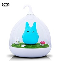 Gary & Ghost LED Mood Toto Ros, Blue Night Light 2 Brightness Dimmable Touch Panel Control Children's Table Lamp for bedside: Amazon.de: Beleuchtung