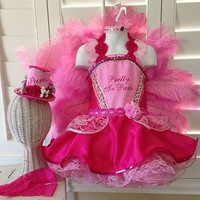 New Custom Pink Paris Pageant Wear OOC