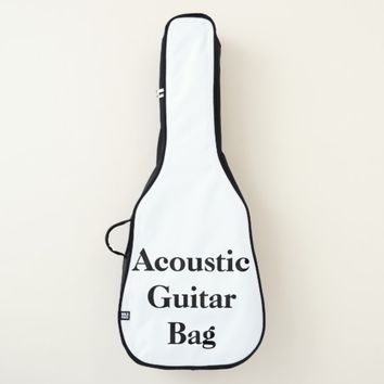 Personalized Acoustic Guitar Bag
