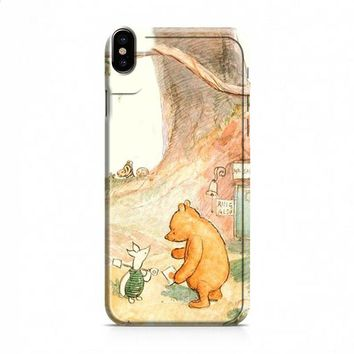 WINNIE THE POOH iPhone X case