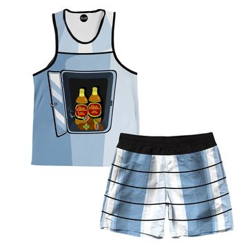 Bender Body Tank And Shorts Rave Outfit