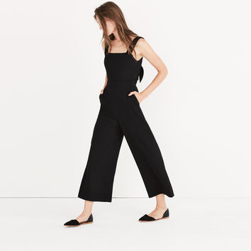 Apron Bow-Back Jumpsuit : | Madewell