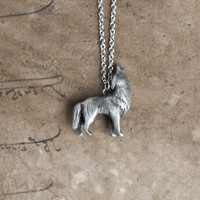 Le Intuitive Wolf Totem Necklace