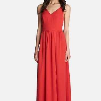 Women's 1.STATE V-Neck Maxi Dress,