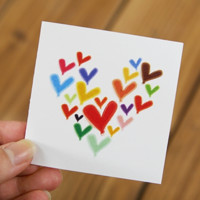 Mini Heart Card