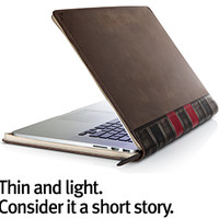 BookBook for Air / Retina, Vintage Leather Case for MacBook Air/Retina Pro