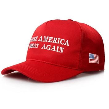 Make America Great Again Letter Print Donald Trump Hat 2016 Republican Snapback Baseba