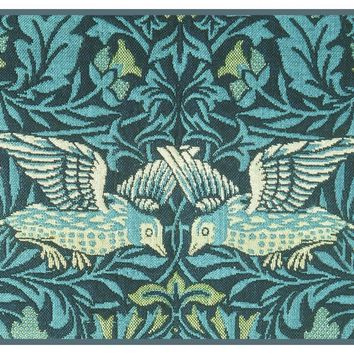 William Morris 2 Blue Birds Detail Counted Cross Stitch or Counted Needlepoint Pattern