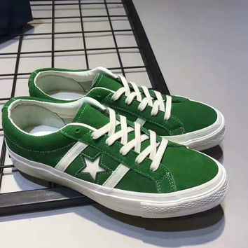 Converse Jack Star Suede Women Men Fashion relaxation shoes