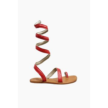 Cannes Sandals - Coral