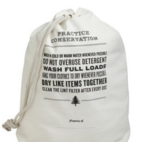 Reduce, Reuse, Rinse Cycle Laundry Bag | Mod Retro Vintage Decor Accessories | ModCloth.com
