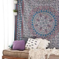 Magical Thinking Ygrite Medallion Tapestry- Teal One