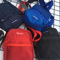 Supreme New Fashion Women And Men Shoulder Bag Four color