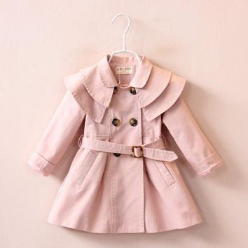 Toddler Trench Coat