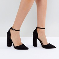 ASOS PEBBLE Pointed High Heels at asos.com