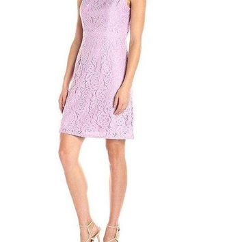 Adrianna Papell Short Sleeveless Cocktail Party Dress