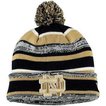 Notre Dame Fighting Irish NWT Pom Knit NCAA Winter Hat New Era ND new with tags