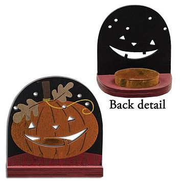 Jack O' Lantern Tealight Holder