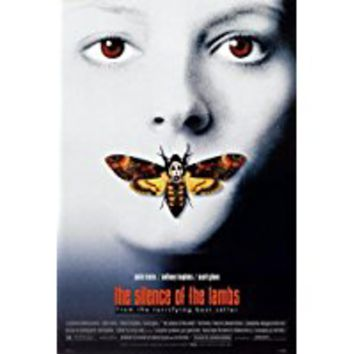Silence of the Lambs Poster Movie D 11x17 Jodie Foster Anthony Hopkins Scott Glenn Ted Levine