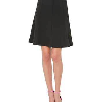 Isaac Mizrahi New York Pleated A-Line Skirt