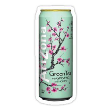 Arizona Green Tea by Olivia Pawlowski
