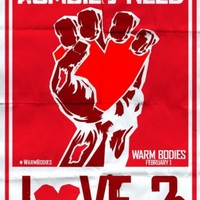 WARM BODIES FILM MOVIE GREAT POSTER A4 A3