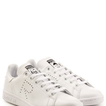 Adidas by Raf Simons Stan Smith Leather Sneakers - Adidas by Raf Simons | WOMEN | US STYLEBOP.com