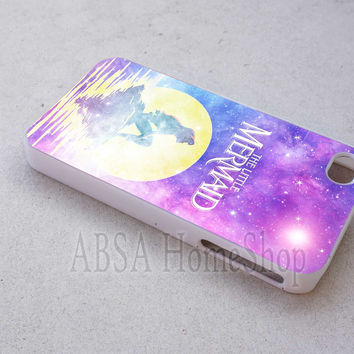 moon ariel little mermaid case sell online for iPhone 4/4s/5/5s/5c/6/6+ case,iPod Touch 5th Case,Samsung Galaxy s3/s4/s5/s6Case, Sony Xperia Z3/4 case, LG G2/G3 case, HTC One M7/M8 case