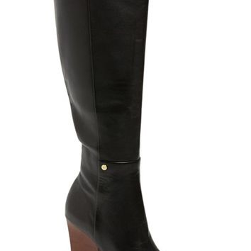 Women's Calvin Klein 'Zurie' Knee High Pointy Toe Boot,